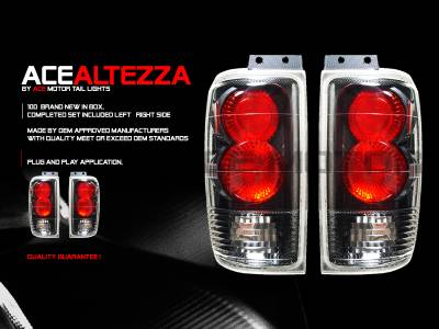 Headlights & Tail Lights - Tail Lights - Custom - Carbon Taillights