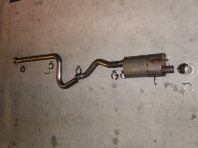 Exhaust - Custom Fit Exhaust - Stainless Works - Chevrolet HHR Stainless Works Exhaust System with Downpipe - HHRSSCB-S