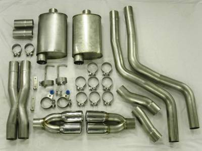 Exhaust - Custom Fit Exhaust - Stainless Works - Dodge Ram Stainless Works Header & Exhaust System - HM61CB-C