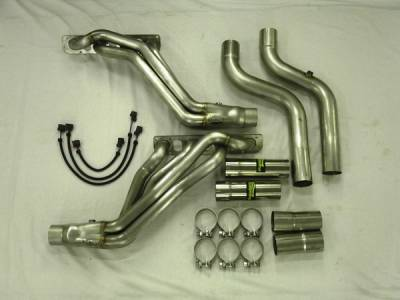 Exhaust - Custom Fit Exhaust - Stainless Works - Dodge Ram Stainless Works Header & Exhaust System - HM61HDRCAT