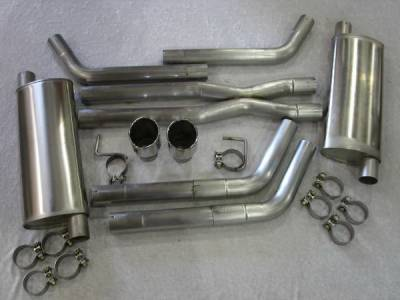Exhaust - Custom Fit Exhaust - Stainless Works - Dodge Magnum Stainless Works Header & Exhaust System - HMCB
