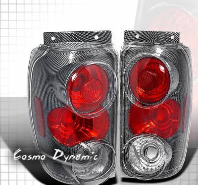 Headlights & Tail Lights - Tail Lights - Custom - Carbon Altezza Taillights