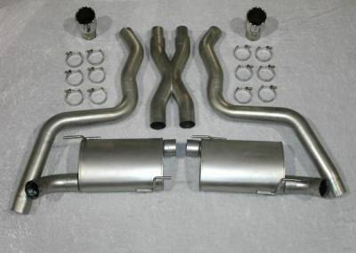 Exhaust - Custom Fit Exhaust - Stainless Works - Ford Mustang Stainless Works Exhaust System - M05CB3