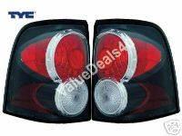 Headlights & Tail Lights - Tail Lights - Custom - Black TYC Taillights