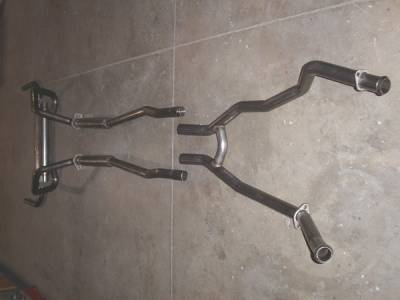 Exhaust - Custom Fit Exhaust - Stainless Works - Ford Mustang Stainless Works Dual Exhaust System - M6723000S