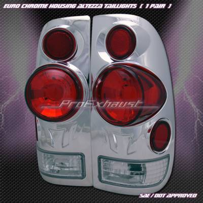 Headlights & Tail Lights - Tail Lights - Custom - 3D Chrome Altezza Taillights