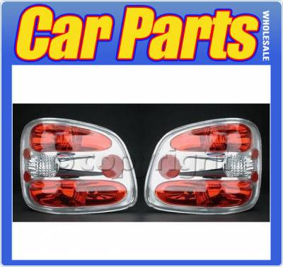Headlights & Tail Lights - Tail Lights - Custom - Crystal Clear Altezza Flareside Taillights