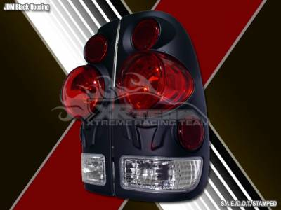 Headlights & Tail Lights - Tail Lights - Custom - 3D Black Altezza Taillights