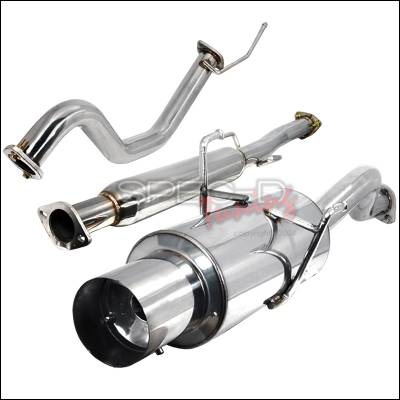 Exhaust - Custom Fit Exhaust - Spec-D - Acura Integra Spec-D N1 Style Catback Exhaust - MFCAT2-INT94