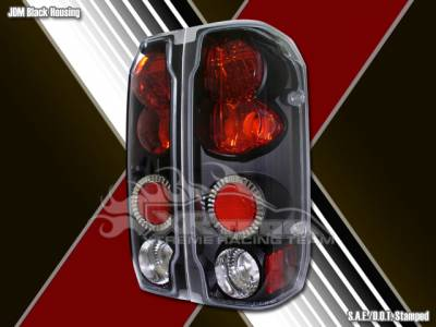 Headlights & Tail Lights - Tail Lights - Custom - Black Euro Altezza Taillights