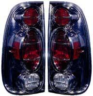 Headlights & Tail Lights - Tail Lights - Custom - Black Depo Taillights