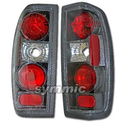 Headlights & Tail Lights - Tail Lights - Custom - Euro Carbon Taillights
