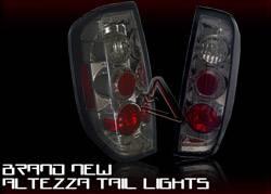 Headlights & Tail Lights - Tail Lights - Custom - Smoke Gunmetal Taillights