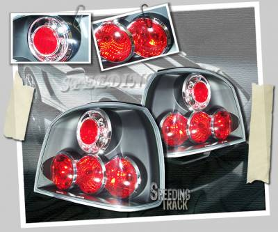 Headlights & Tail Lights - Tail Lights - Custom - Black G5 Taillights