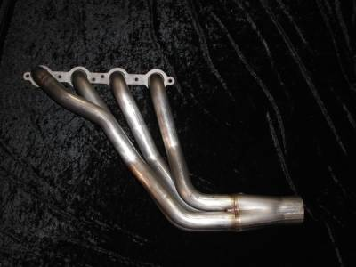 Exhaust - Custom Fit Exhaust - Stainless Works - Chevrolet SSR Stainless Works Header & Exhaust System - SSRHDR-TD