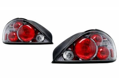 Headlights & Tail Lights - Tail Lights - Custom - Gunmetal Taillights