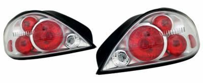 Headlights & Tail Lights - Tail Lights - Custom - Titanium Housing Taillights