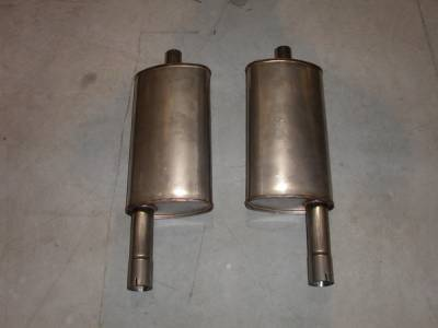 Exhaust - Custom Fit Exhaust - Stainless Works - Ford Thunderbird Stainless Works Exhaust System - T400009
