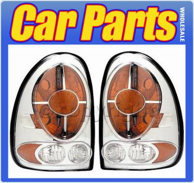 Headlights & Tail Lights - Tail Lights - Custom - Crystal Clear Altezza Taillights
