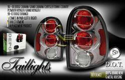 Headlights & Tail Lights - Tail Lights - Custom - Gunmetal Altezza Taillights