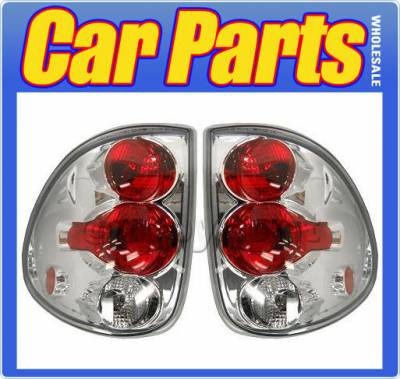 Headlights & Tail Lights - Tail Lights - Custom - Chrome Clear Altezza Taillights