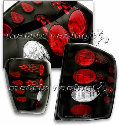 Headlights & Tail Lights - Tail Lights - Custom - Black Taillights