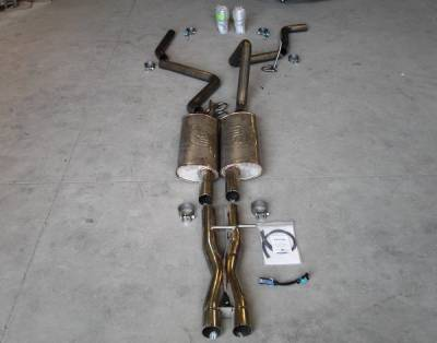 Exhaust - Custom Fit Exhaust - Stainless Works - Chevrolet Trail Blazer Stainless Works Exhaust System - TBSSTD-LMF