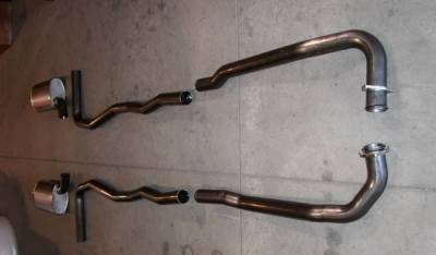 Exhaust - Custom Fit Exhaust - Stainless Works - Chevrolet Corvette Stainless Works Exhaust System - V6313100A
