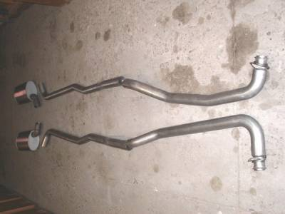 Exhaust - Custom Fit Exhaust - Stainless Works - Chevrolet Corvette Stainless Works Exhaust System - V6403000A