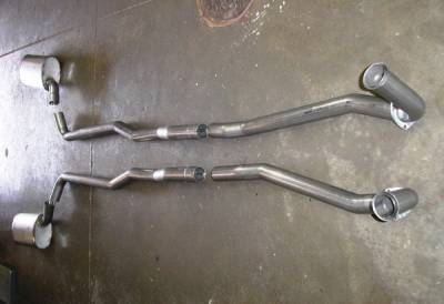Exhaust - Custom Fit Exhaust - Stainless Works - Chevrolet Corvette Stainless Works Exhaust System - V6413100A