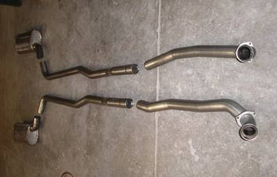 Exhaust - Custom Fit Exhaust - Stainless Works - Chevrolet Corvette Stainless Works Exhaust System - V6614100S