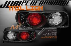 Headlights & Tail Lights - Tail Lights - Custom - JDM Black Taillights