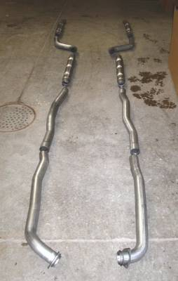 Exhaust - Custom Fit Exhaust - Stainless Works - Chevrolet Corvette Stainless Works Chambered Exhaust System - V66143ACH