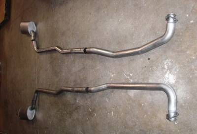 Exhaust - Custom Fit Exhaust - Stainless Works - Chevrolet Corvette Stainless Works Exhaust System - V6803000A