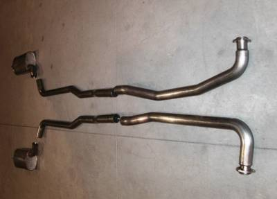 Exhaust - Custom Fit Exhaust - Stainless Works - Chevrolet Corvette Stainless Works Exhaust System - V6803000S