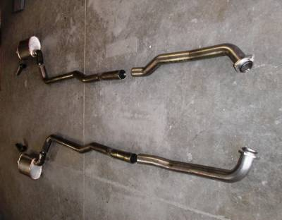 Exhaust - Custom Fit Exhaust - Stainless Works - Chevrolet Corvette Stainless Works Exhaust System - V7014100A