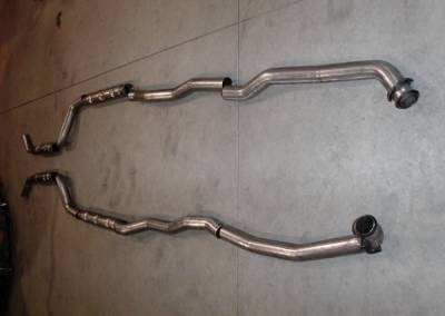 Exhaust - Custom Fit Exhaust - Stainless Works - Chevrolet Corvette Stainless Works Chambered Exhaust System - V70143SCH