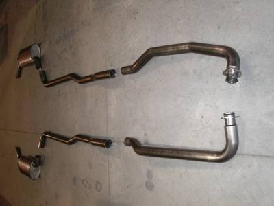 Exhaust - Custom Fit Exhaust - Stainless Works - Chevrolet Corvette Stainless Works Exhaust System - V7303200A