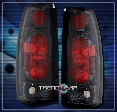 Headlights & Tail Lights - Tail Lights - Custom - G2 Carbon  Taillights