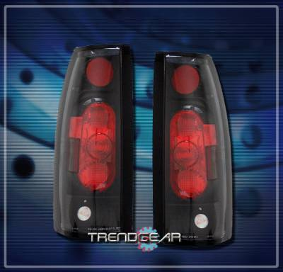 Headlights & Tail Lights - Tail Lights - Custom - G2 Black  Taillights