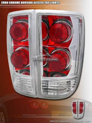 Headlights & Tail Lights - Tail Lights - Custom - Euro Chrome Taillights