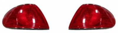 Headlights & Tail Lights - Tail Lights - Custom - Red Taillights