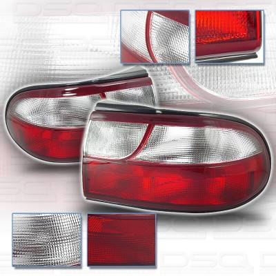 Headlights & Tail Lights - Tail Lights - Custom - Altezza Red Clear Taillights