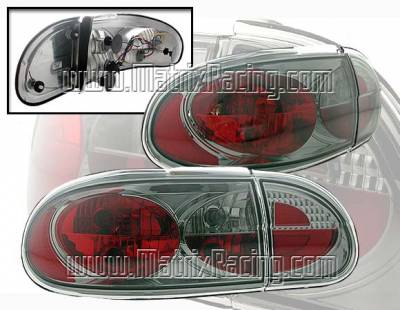 Headlights & Tail Lights - Tail Lights - Custom - Euro Altezza Smoked Taillights