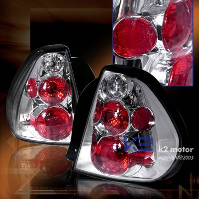 Headlights & Tail Lights - Tail Lights - Custom - Altezza Chrome Taillights