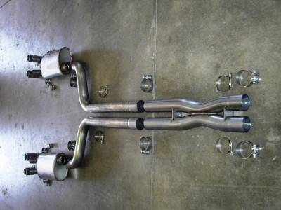 Exhaust - Custom Fit Exhaust - Stainless Works - Chevrolet Corvette Stainless Works Header & Exhaust System - ZR1CHAMSW