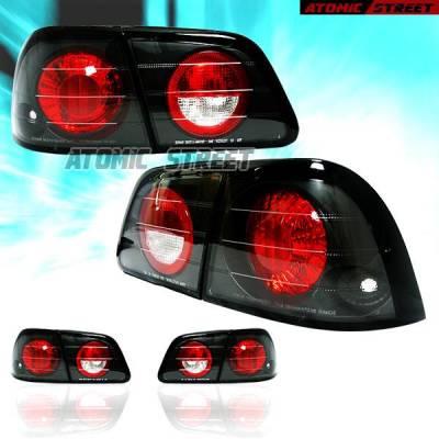 Headlights & Tail Lights - Tail Lights - Custom - JDM Black Taillights