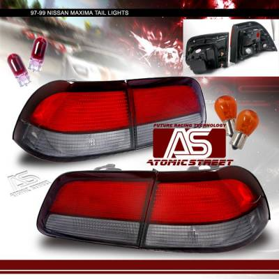 Headlights & Tail Lights - Tail Lights - Custom - JDM RED Smoked Taillights