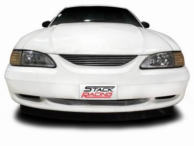 Stack Racing - Ford Mustang Stack Racing Billet Upper Grille - 17002