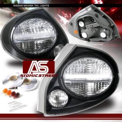 Headlights & Tail Lights - Tail Lights - Custom - Euro Altezza Black  Clear Taillights